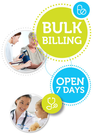 Bulk Billing - Open 7 Days at Baldivis Western Australia
