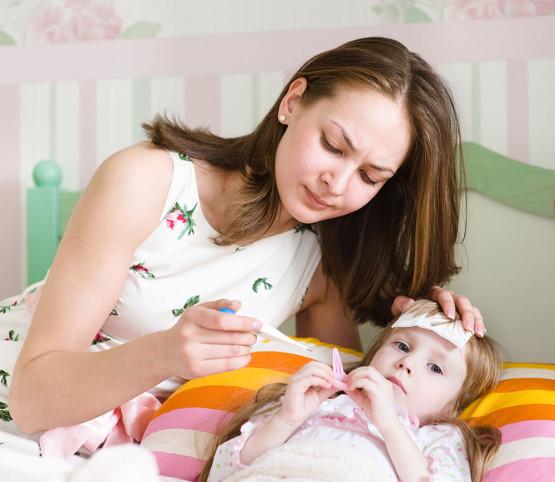 Taking-Care-Sick-Child